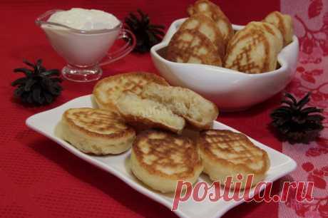 Воздушные оладьи на кефире рецепт с фото пошагово - 1000.menu