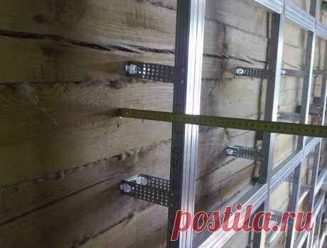 Чем нельзя крепить обрешетку к стенам из натурального бруса На сегодняшний день в строительных магазинах представлен широкий ассортимент материалов для внутренней отделки помещения, которые необходимо монтировать