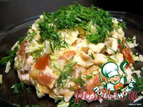 """Салат """"Куриный"""" – кулинарный рецепт"""