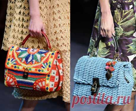 Модный тренд – вязаная сумка   Обо всем понемногу   Яндекс Дзен