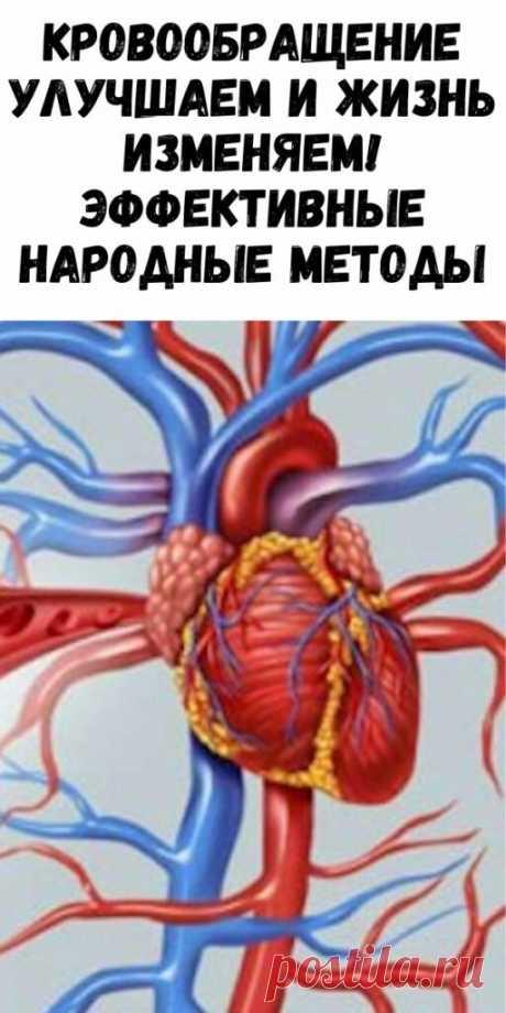 Кровообращение улучшаем и жизнь изменяем! Эффективные народные методы - Упражнения и похудение