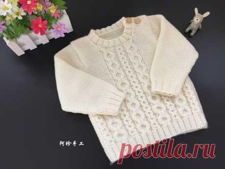 Детский пуловер спицами схема. Вязание для детей спицами схемы | Я Хозяйка