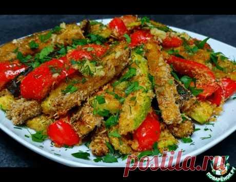 Запеченные овощи в духовке – кулинарный рецепт
