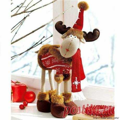 Лось рождественский