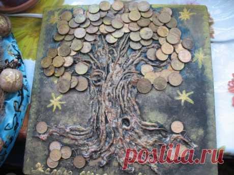 Денежное дерево МК - Мастер классы по декору