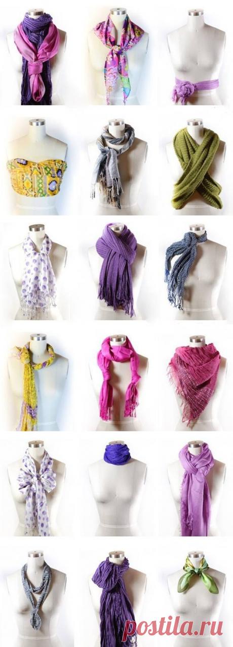Como llevar correctamente la bufanda femenina: ¡58 mejores variantes otoñales! — el Guía femenino