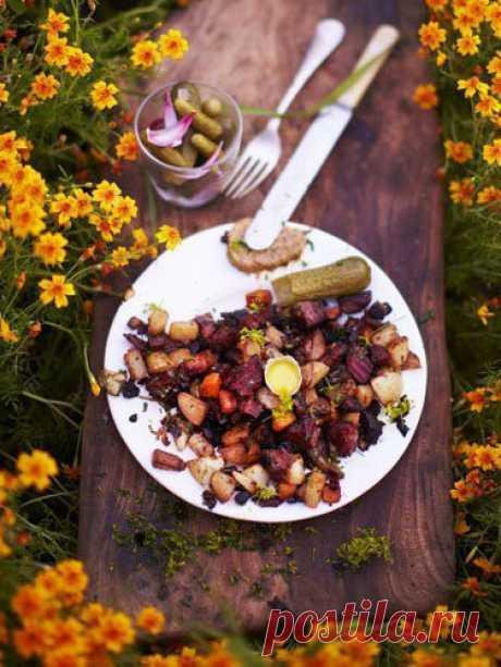 Мясо с овощами. Рецепт Питтипанна   Если вы никогда не слышали, что такое Питтипанна, то все просто - это мясо с овощами, классическое шведское блюдо! Это Pyttipanna!