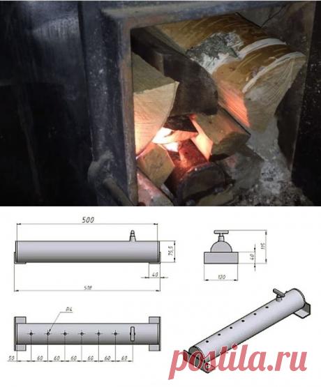 Метод, который позволит дровам гореть дольше