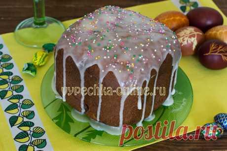 ✔️Кулич на Пасху в хлебопечке – простой и вкусный рецепт с фото пошагово