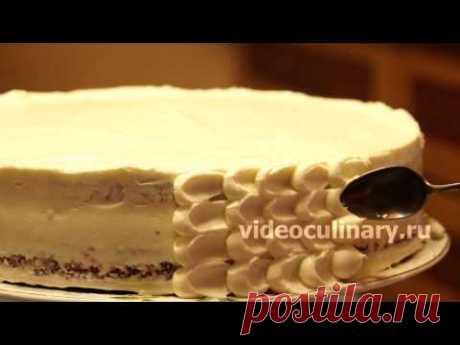 El modo simple adornamiento elegante de la torta - la Receta de la Abuela Ema