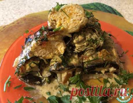 Баклажаны «Гениальные 3» – кулинарный рецепт
