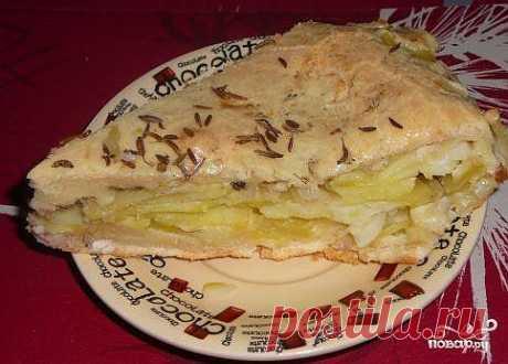 Рыбный пирог из жидкого теста - пошаговый кулинарный рецепт на Повар.ру