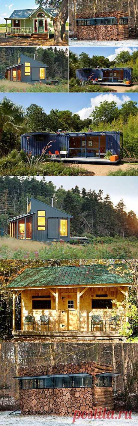11 оригинальных дачных домиков со всего мира   Наш уютный дом