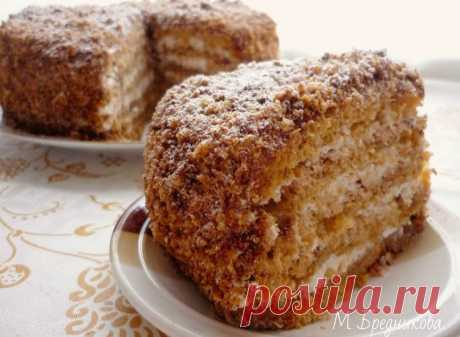 Торт МЕДОВИК в мультиварке! - Бабушкины рецепты