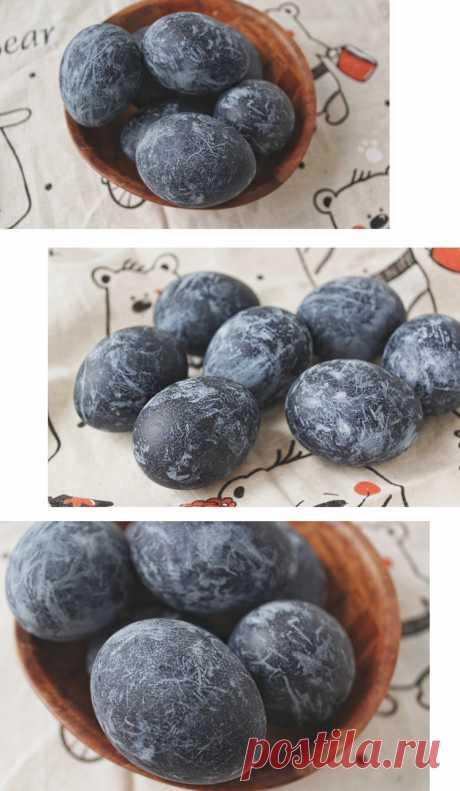 Как покрасить яйца на Пасху чаем каркаде | Slow Life Blog