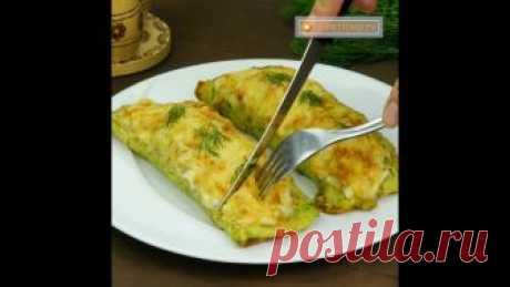 Необычные кабачковые блины Если ваша семья является поклонниками овощных дранников, то данное блюдо вам точно понравится.