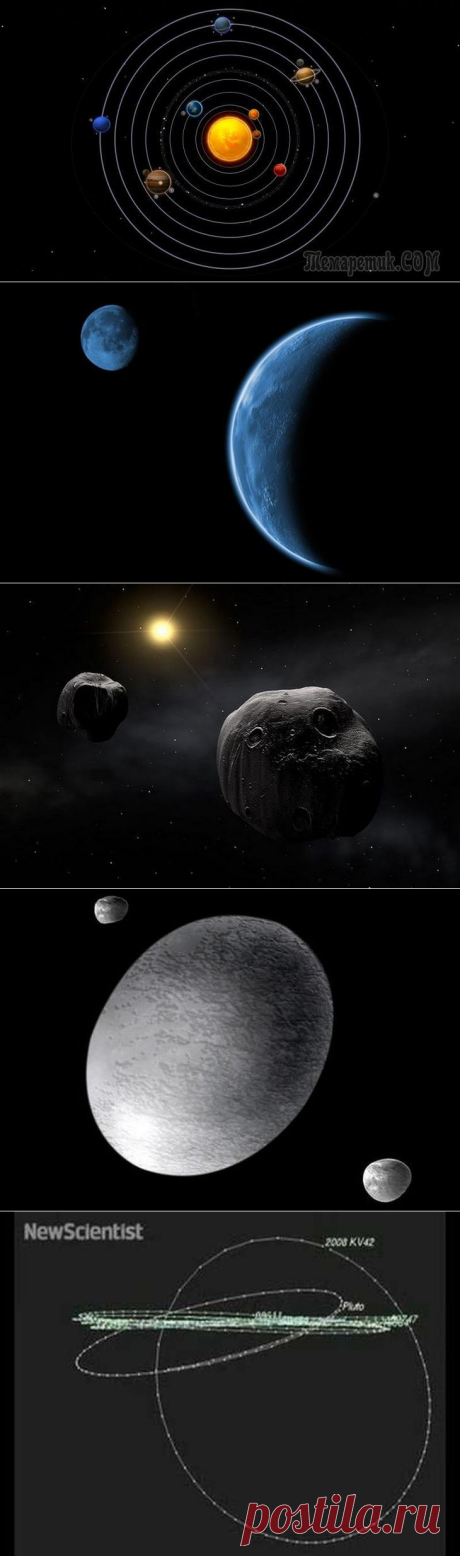 10 little-known objects of our Solar system