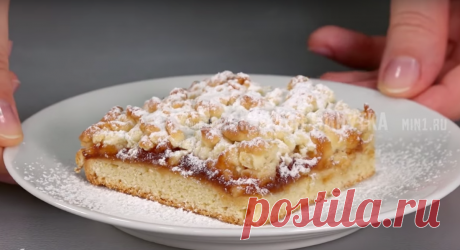 Знаменитый тёртый пирог: меняя начинки, можно готовить хоть каждый день   Кухня наизнанку   Яндекс Дзен