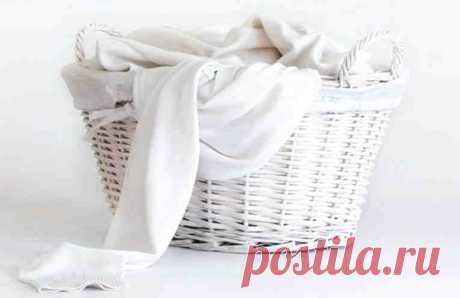 5 способов деликатно отбелить и удалить пятна с белых вещей. Подходит для тонких тканей и женского белья!