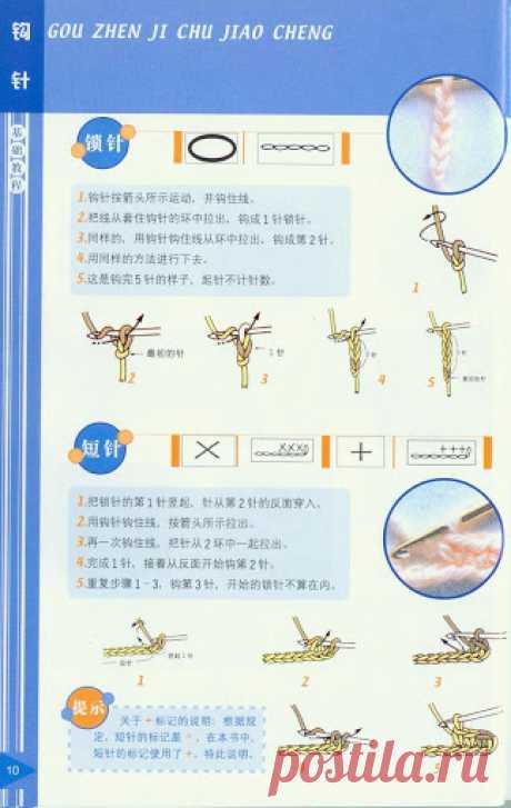 Чтение японских и китайских схем вязания Инструкция по японским условным обозначениям в вязании крючком. Собрала несколько видов инструкций по вязанию крючком , которые применяются в японских журналах по вязанию, рассмотрев в подробностях, а…