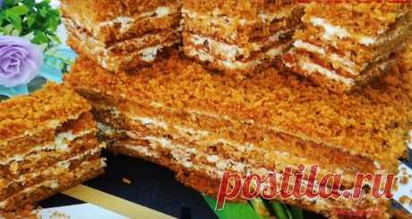 Медовый торт «Как пух»