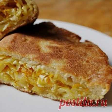 Пирог «Шарлотка с капустой». Супер рецепт!