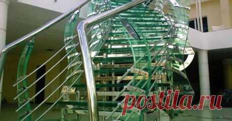 (60) Лестницы и перила