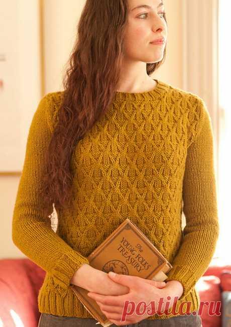 Пуловер Wickerwork от дизайнера Michele Wang