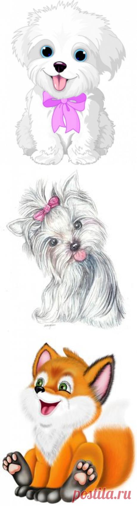 (6) Panting Puppy