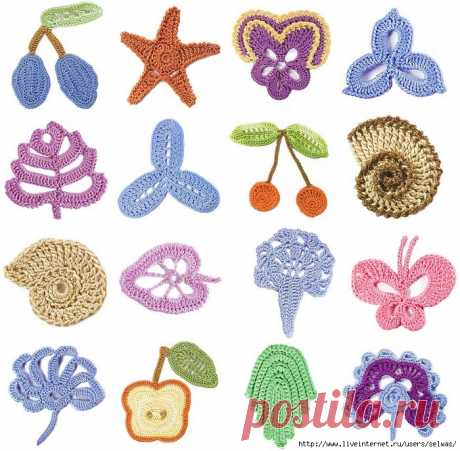 Applications with schemes for decoration of children's things