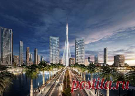 В Дубае строится новое самое высокое здание в мире, и оно поразит ваше воображение! »