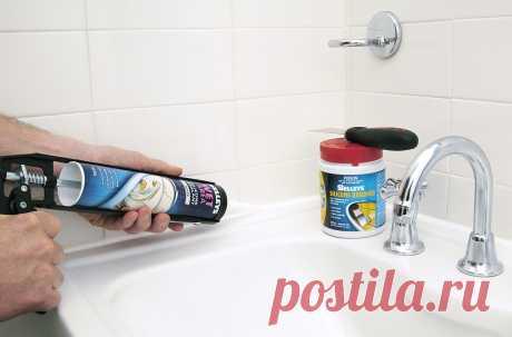 Как и чем удалить старый герметик с поверхности и нанести новый: облагораживаем шов между ванной и стеной | Советы по дому