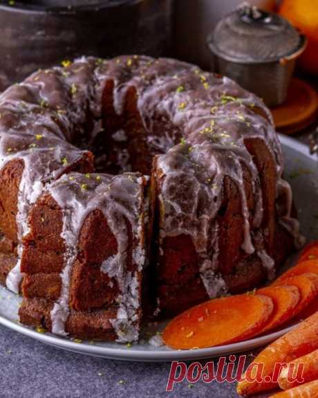 Ананасово–морковный кекс