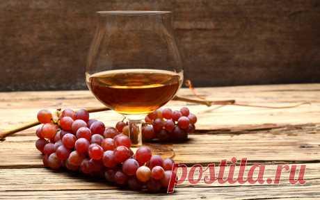 Виноградное бренди в квартире,быстрый рецепт