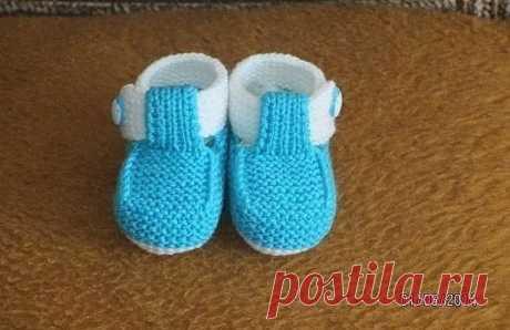 Пинетки малышам - Пинетки, носки, вязаная обувь - Каталог файлов - Вязание для детей
