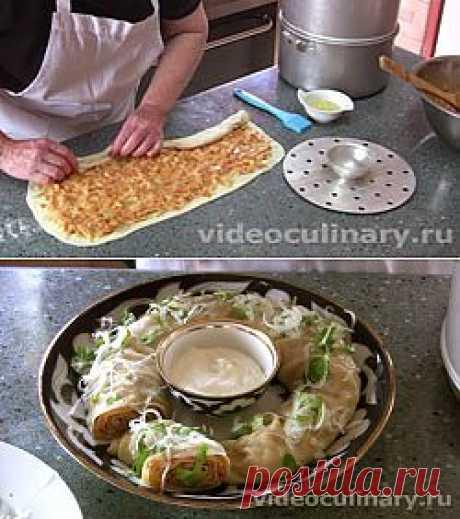 Ханум(паровой рулет с картошкой) - Простые рецепты Овкусе.ру
