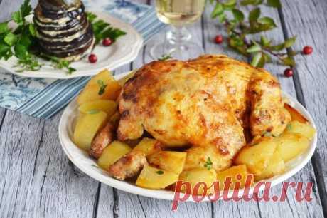 Курица с грибами в духовке - 5 самых вкусных рецептов