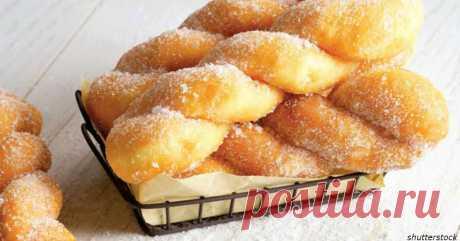 Пончики ″плетенка″: быстро, дешево и вкуснее, чем в кондитерской!