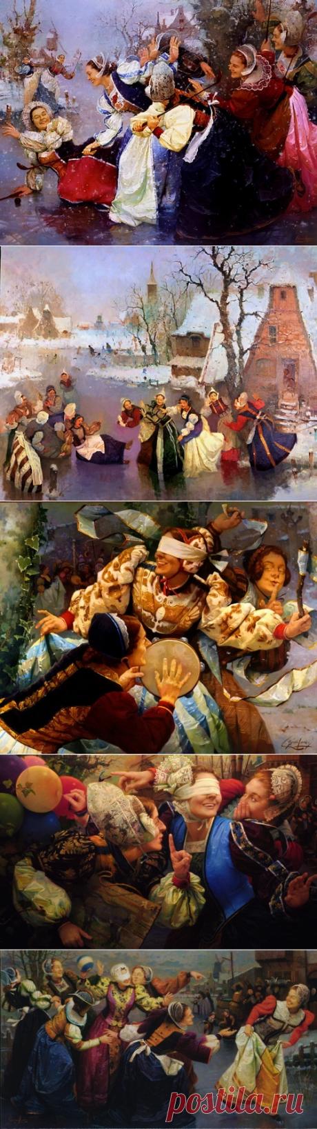 Народное гулянье Ignacio Larra (26 работ) » Картины, художники, фотографы на Nevsepic