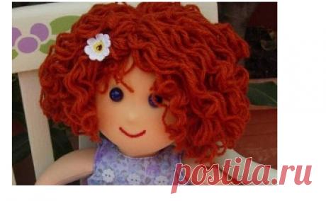 Волосы для куколок
