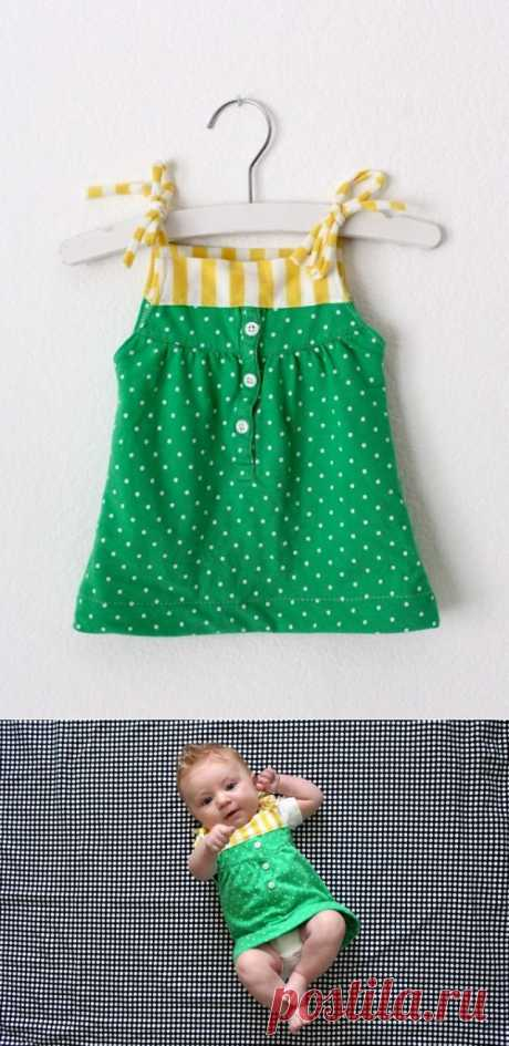 Сарафанчик из футболки (мастер-класс) / Для детей / Модный сайт о стильной переделке одежды и интерьера
