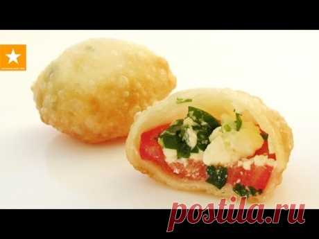 Bombochki's pies with the most tasty stuffing! The recipe without eggs and yeast from the Marmalade Fox - YouTube