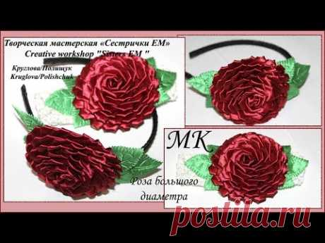 Master class. Kanzasha rose. How to collect a rose in the non-standard way of the set diameter