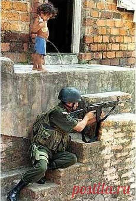 война войной, а писять хочется