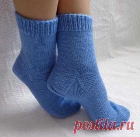 Правила вязания носков, которые должен знать каждый