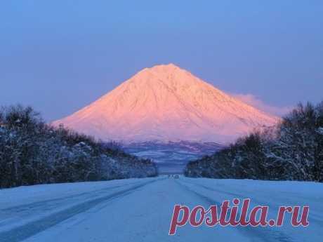 Корякский вулкан, Камчатка