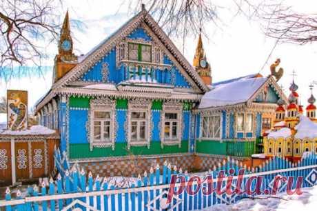 Злынка – город волшебных деревянных узоров в Брянской области  #города