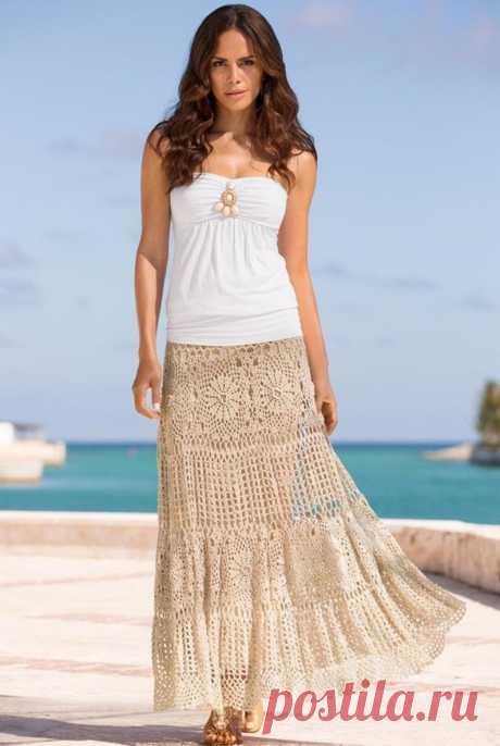Вязаные крючком юбки женские Богемные юбки Вязаные крючком макси-юбки Богемные | Etsy