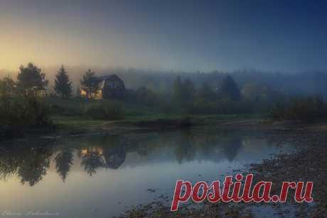 Посёлок Усть-Койва, Пермский край. Автор фото: Елена Соколова.