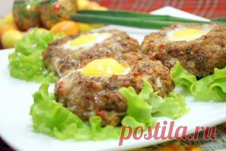 Пасхальные мясные колечки с яйцом – Пошаговый рецепт с фото. Пасхальные рецепты. Вкусные рецепты с фото